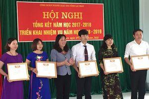 CĐ ngành giáo dục Lai Châu chăm lo tốt quyền lợi của nhà giáo, người lao động