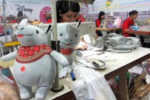 Hãng đồ chơi Indonesia sản xuất thú bông linh vật Asiad