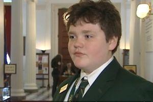 Cậu bé 14 tuổi chạy đua tranh chức Thống đốc bang Vermont, Mỹ