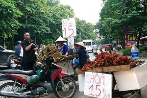 Hà Nội, nhãn và nhiều loại trái cây giảm giá mạnh