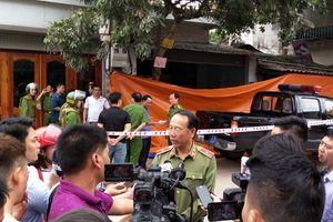 Truy nguồn gốc khẩu súng nghi phạm bắn chết vợ chồng giám đốc DN ở Điện Biên