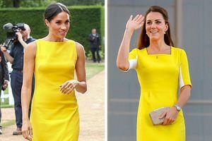Phong cách thời trang đẹp hoàn hảo của hai công nương Anh