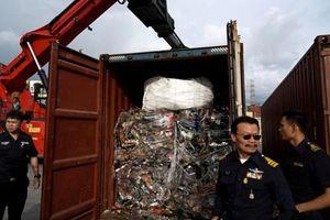 Thái Lan cấm nhập phế liệu