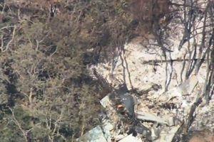 Tiêm kích Mỹ T-38 lao xuống đất, phi công thoát thân thành công