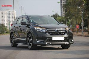 Honda CR-V so kè với Hyundai Tucson