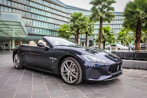 Cận cảnh Maserati GranCabrio Sport giá hơn 17 tỷ đồng tại Việt Nam
