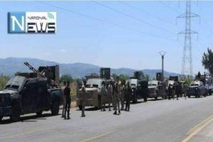 Hàng trăm xe bọc thép của SAA đổ dồn về Badiyeh quyết chiến với IS