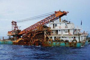 Anh điều tra vụ 'hải tặc Trung Quốc' vớt xác tàu chiến bán phế liệu