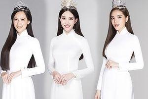 12 Hoa hậu Việt Nam đẹp dịu dàng với áo dài trắng nữ sinh