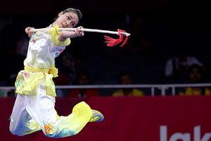 Wushu Việt Nam hụt 'vàng' ASIAD trong tiếc nuối