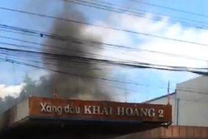 Đã xác định được nguyên nhân vụ cháy cây xăng ở Quảng Nam