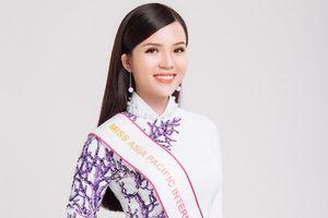 Hoa khôi Huỳnh Thúy Vi đại diện Việt Nam thi Hoa hậu Châu Á Thái Bình Dương 2018