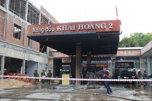Quảng Nam: Bất ngờ nguyên nhân cháy cây xăng Khải Hoàng 2