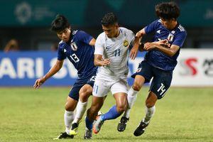 Olympic Malaysia bị Nhật Bản loại theo cách đau đớn