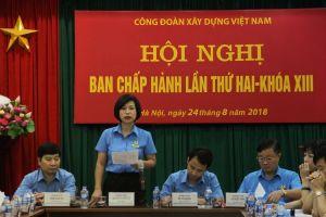 Ban Chấp hành CĐ Xây dựng Việt Nam thông qua nhiều nội dung quan trọng