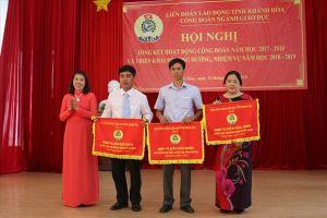 CĐ ngành Giáo dục Khánh Hòa: Hơn 4 tỷ đồng hỗ trợ đoàn viên khó khăn và thiệt hại sau thiên tai