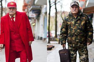 Cụ ông gần 90 vẫn mặc quá chất khiến trai trẻ 'ngửi khói'