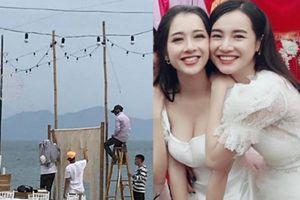 Trường Giang, Nhã Phương đính hôn: Resort phong tỏa, 50 bảo vệ đông hơn khách mời