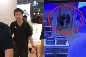 Nữ nhân viên bị đấm thẳng mặt vì từ chối đổi iPhone X