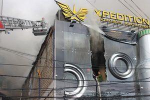 Cháy quán bia có dàn âm thanh 8 tỷ ở Đà Lạt, du khách tá hỏa
