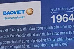 Thương hiệu Bảo Việt trong Top 40 thương hiệu giá trị nhất Việt Nam