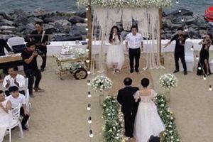 Trường Giang và Nhã Phương tổ chức lễ đính hôn kín đáo bên bờ biển