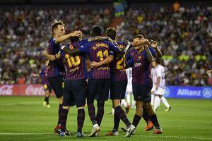 Messi im tiếng, Dembele và VAR giúp Barca giành 3 điểm trước Valladolid