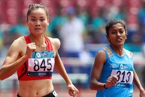 Quách Thị Lan phá kỷ lục quốc gia ở nội dung 400m vượt rào nữ