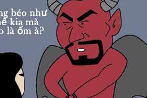 'Quỷ' cũng no đòn chỉ vì cái tội 'lỡ mồm'