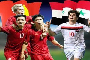 Olympic Việt Nam - Olympic Syria: Chờ đợi sự cao tay của HLV Park Hang Seo