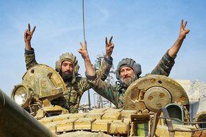 Quân đội Syria không ngừng tiến công, IS mắc kẹt tại sa mạc Sweida