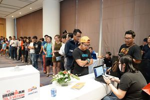 Giải TECHCOMBANK IRONMAN 70.3 tổ chức tại Đà Nẵng