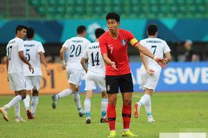 Vượt qua Uzbekistan, Hàn Quốc hẹn U23 Việt Nam ở bán kết