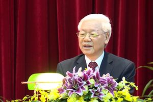 Khai giảng Lớp bồi dưỡng, cập nhật kiến thức đối với các đồng chí Ủy viên Trung ương Đảng khóa XII