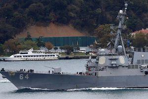 Mỹ chuyển kho Tomahawk từ Biển Đen áp sát Syria?