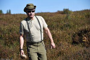 Cận cảnh những hình ảnh 'lạ' đang gây sốt của Tổng thống Putin