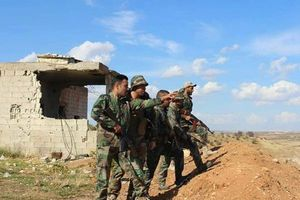 Quân đội Syria đập tan trụ sở của FSA ở bắc Hama