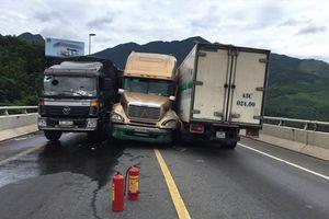 Tai nạn liên hoàn tại đường tránh Nam Hải Vân