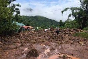 Quốc lộ 4H từ km 45 đi huyện Mường Nhé chưa thể thông tuyến
