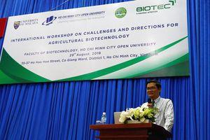Góc nhìn thực tiễn từ Hội thảo quốc tế về Công nghệ sinh học trong Nông nghiệp