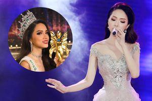 'Lâu lắm mới cầm micro', Hương Giang hát ca khúc 'siêu khó' này tại Hoa hậu Chuyển giới Thái Lan 2018