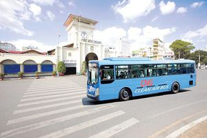TP.HCM xây dựng 12 trạm nạp gas cho xe buýt