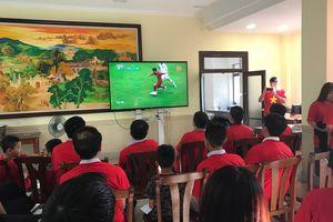 ĐSQ Việt Nam tại Trung Quốc tổ chức cổ vũ đội tuyển Olympic Việt Nam
