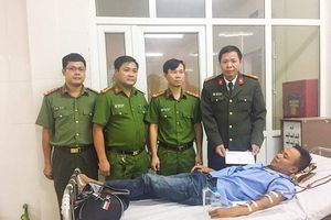 LD18107: Chiến sỹ công an trẻ bị suy thận nặng cần được giúp đỡ