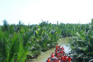 Hội An lập lại trật tự tại khu du lịch sinh thái rừng dừa Bảy mẫu