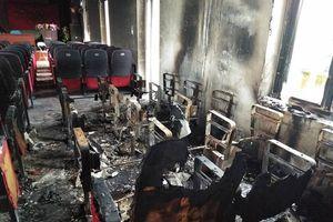 Thanh Hóa: Cháy lớn ở hội trường xã, thiệt hại gần 600 triệu đồng