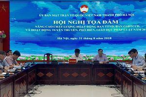 Hà Nội: Nâng cao chất lượng hoạt động của Ban Thanh tra nhân dân