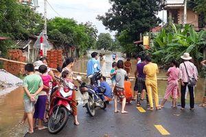 Thanh Hóa: Mưa lũ gây thiệt hại gần 200 tỷ đồng về giao thông