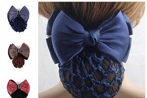 Hướng dẫn cách búi tóc bằng kẹp lưới đơn giản giúp chị em thêm phần xinh đẹp