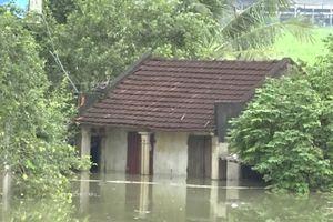 Nước sông Bưởi lên nhanh gây ngập lụt hơn 300 hộ dân tại huyện Thạch Thành